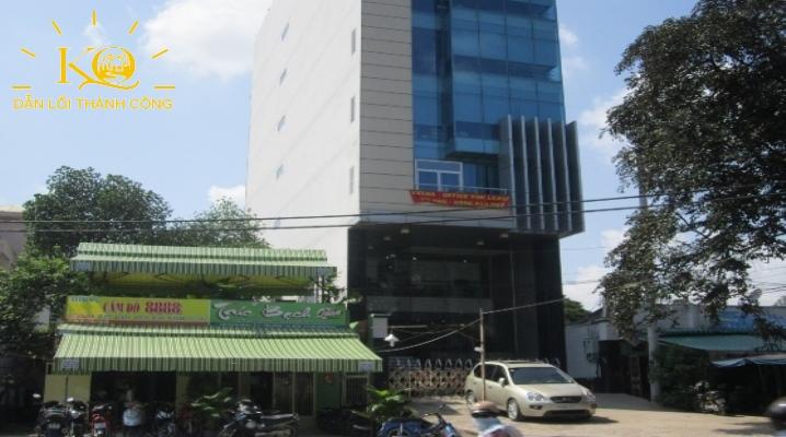 mặt trước tòa nhà